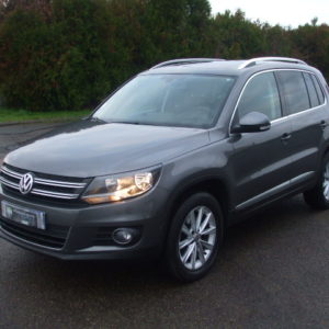 Volkswagen Tiguan 2.0 Tdi 140 Ch Bluemotion Technology Fap Carat 4 Motion Dsg7