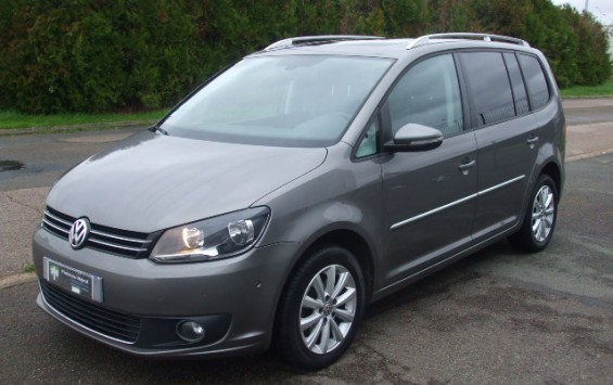 Volkswagen Touran 2.0 Tdi 140 Ch Fap Carat